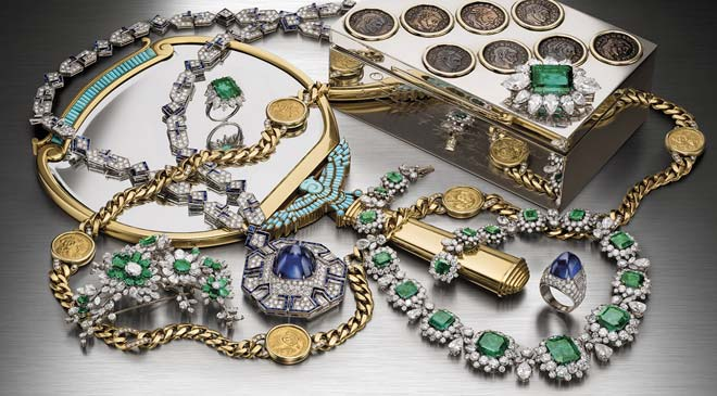 Bvlgari jewellery in the Middle East