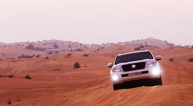 adventure travel in Dubai
